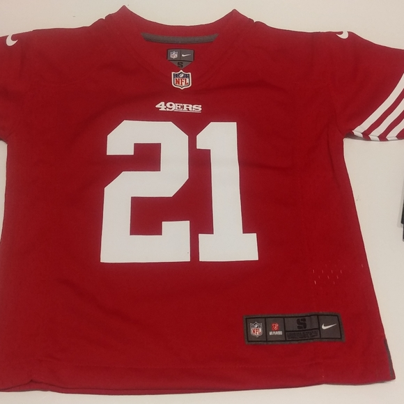 San Francisco 49ers Boy's Jersey New With Tags